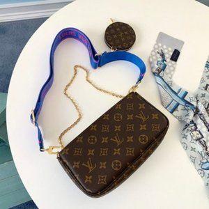 LV Multi Pouchette Accessories Bag 3 in 1